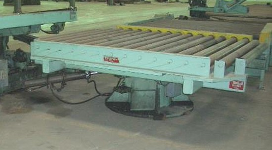 "Picture of 15,000# x 84""OD Braner Rotating Conveyor"